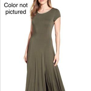 Micheal Kors Jersey A-line metallic trim dress NWT